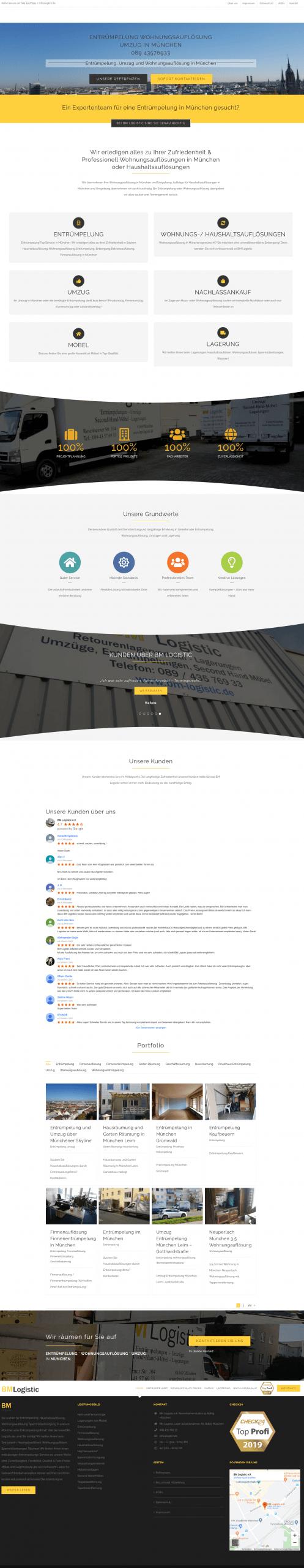 Suchmaschinenoptimierung, Web-Entwicklung WordPress Seite mit Erfolg