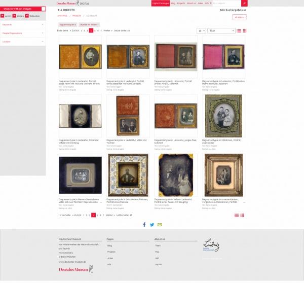 Deutsches Museum Digital Daguerrotypien